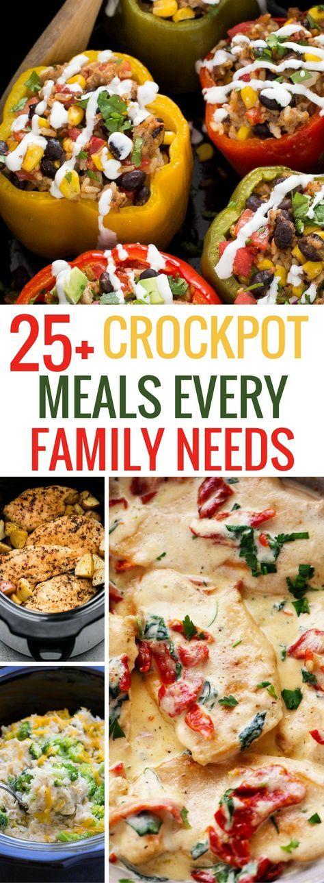 Awesome crockpot meals list