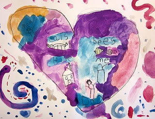 map of my heart, art project