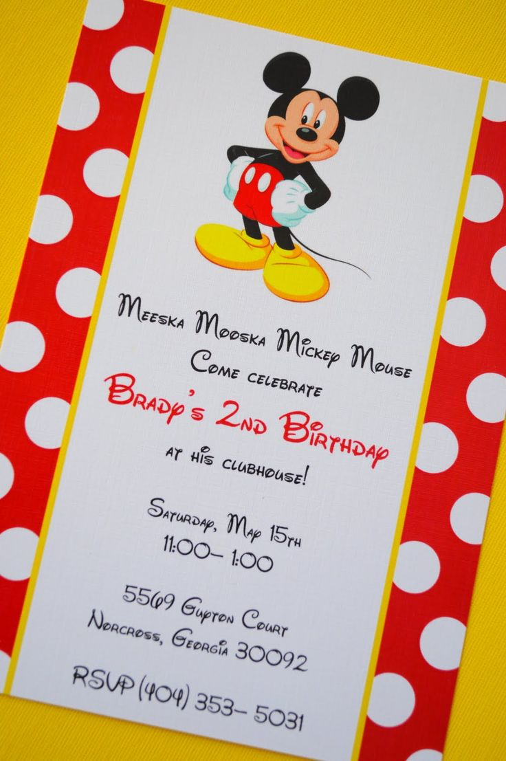 Invitation Wording For Mickey Mouse Party. mickey mouse party ideas  The Sweet Peach Paperie April 2010 72 best Twins First Birthday Idea images on Pinterest Mickey