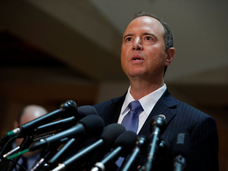 Thomson Reuters The House Intelligence Committee's ranking Democrat Rep. Adam Schiff called on his Republican counterpart Devin Nunes to recuse himself from the committee's investigation into President Donald Trump's connections with Russia on Monday. Schiff's statement... #Chairman, #Committee, #Democrat, #From, #Himself, #House', #Intel, #Probe, #Recuse, #Should, #TrumpRussia Top Democrat on the House Intel Committee: Chairman should recuse himself