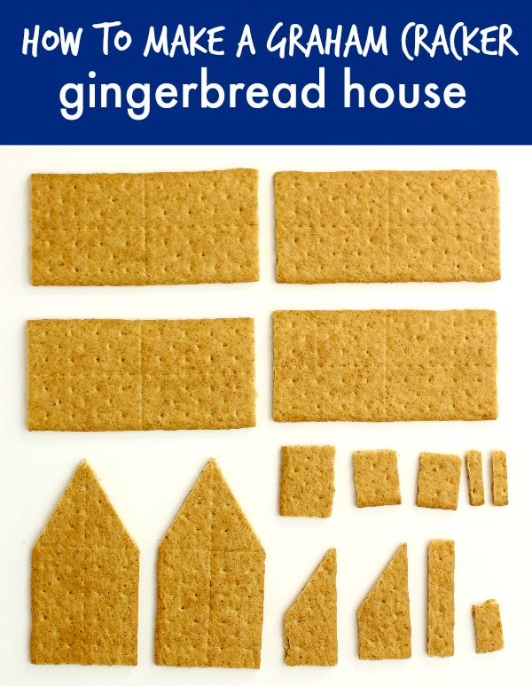 how to make a simple gingerbread house with graham crackers