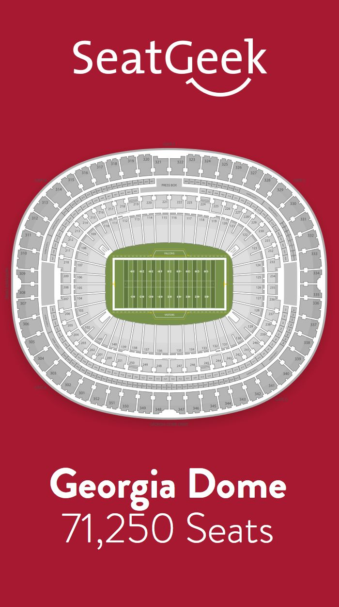 Find The Best Deals On Atlanta Falcons Tickets And Know Exactly Where You Ll Sit