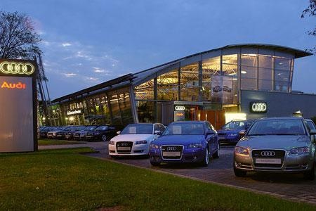 Nice Audi Dealership