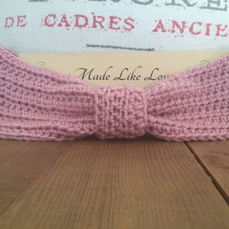 Lovely pink headband is super soft and durable to keep you warm and fashionable all winter!