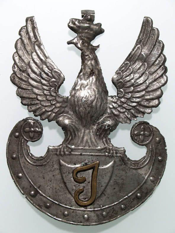 Orzeł na kaszkiet Korpusu Inwalidów