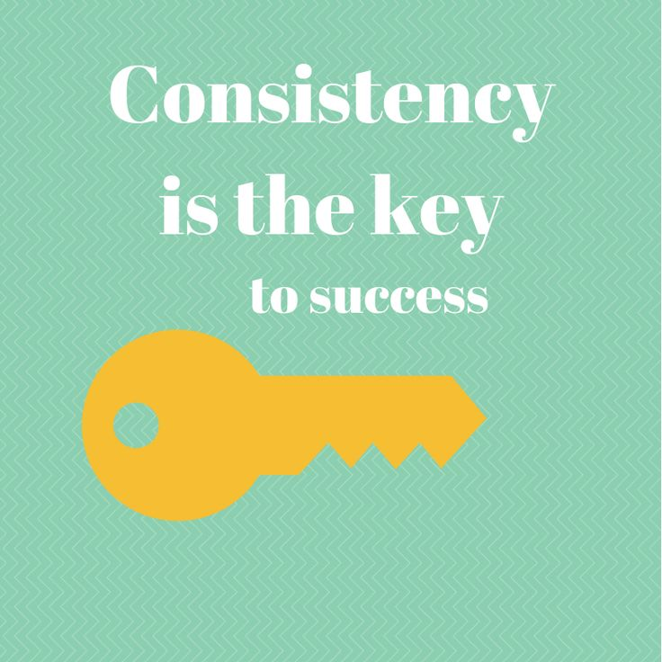 RUNNING WITH OLLIE: Friday Five - Five Motivating Fitness Quotes - click through for more quotes. Consistency is the key to success