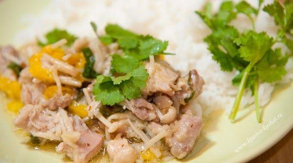 Курица с имбирем - Beautiful food   Красивая еда