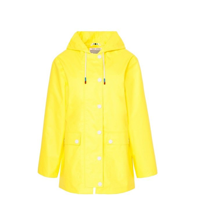 Tory Sport | HOODED RAIN JACKET