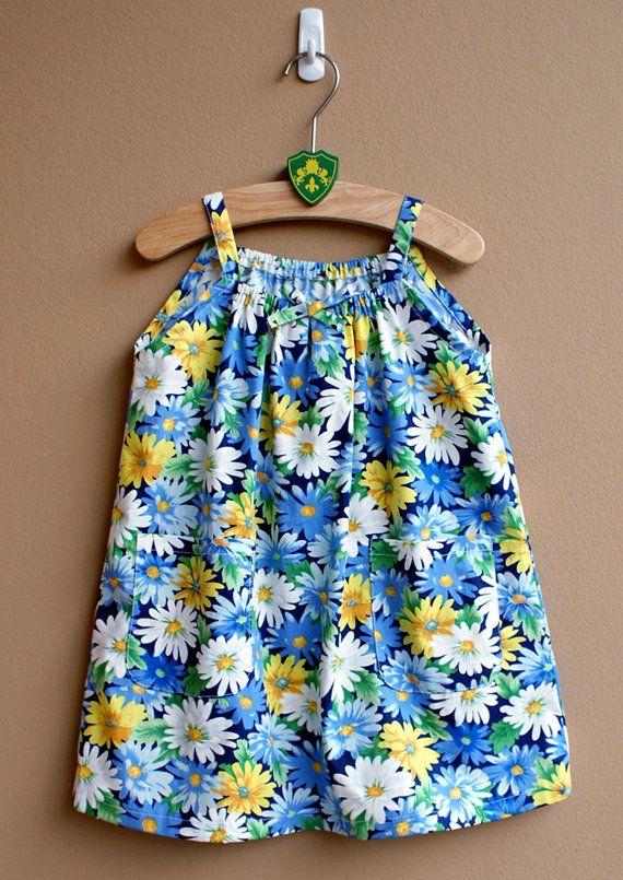 PDF Pattern - Lulu Dress for 12M - 5T and tutorial.. $5.95, via Etsy.