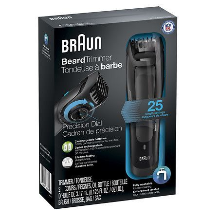 Braun Beard Trimmer BT5050 - 1 ea