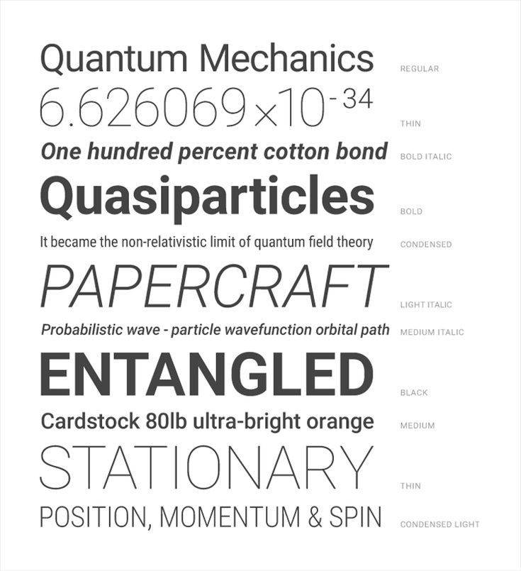 Typography - Style - Google design guidelines