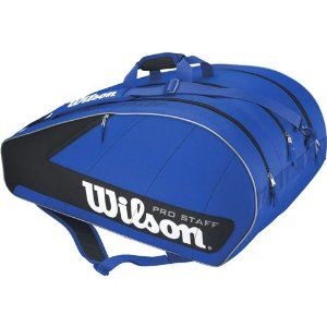 Wilson Pro Staff 12 Pack Bag: Wilson Tennis Bags by Wilson. $48.95