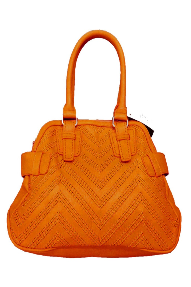 Big Buddha Leigh Rounded Top Handle Woven Handbag