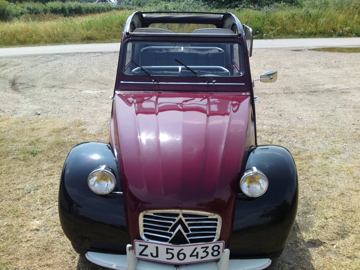 i went from Citroen 2CV 1962 to Fiat 500 1964