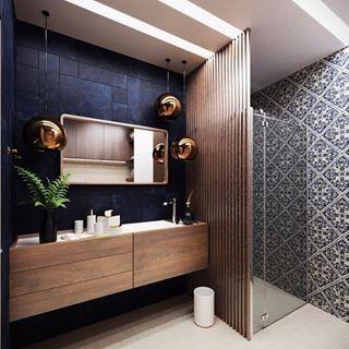 Banheiros . Bathrooms . . 📐 Inspiração ~ Via @inspira.decoracao . . Marque @arq.decor.interior em seus projetos e apareça por aqui. 😁 . Para mais conteúdos como esse, siga: • @amandafaria_arquiteta . • @acasadaarquitetura . • @decor.indesign . . . #banheiros #bathrooms #room #banheiro #bath #bathroom #decoracao #decoracaodeinteriores #decoração #decor #decoration #decorating #decorar #interiores #designdeinteriores #interior #interiordesign #design #bathdecor #lavabo #powderroom #lavabodecorad