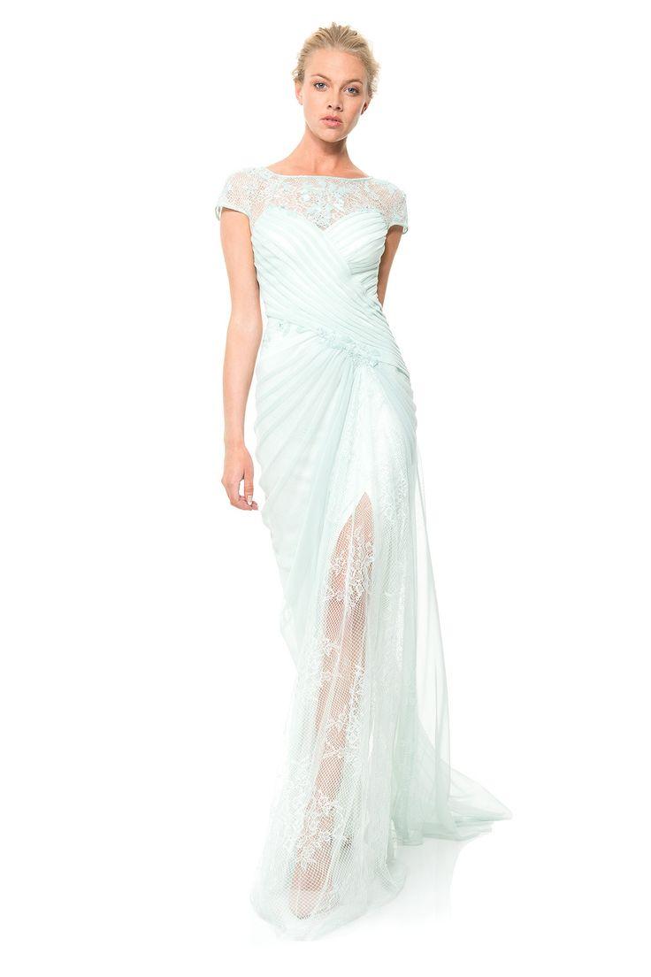 100 best images about tadashi shoji on pinterest spring for Tadashi shoji wedding dresses