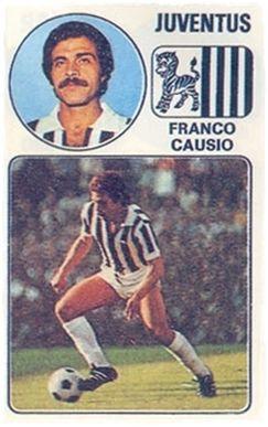 Causio - Panini Euro Fútbol 77