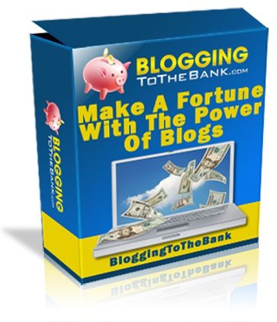 Blogging to the bank. Use this proven money making system that's been used by thousands and watch your profits go through the roof…