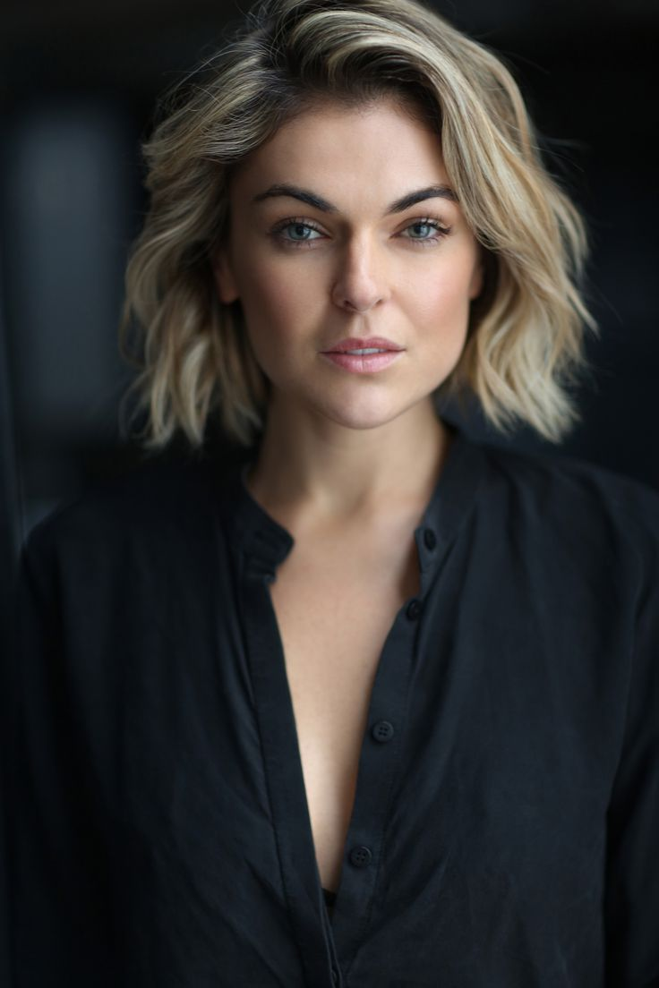Serinda Swan - this haircut exactly (not the colour)
