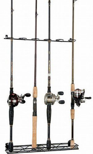 1000 images about fishing rod rack on pinterest rolling for Fishing wire through ceiling