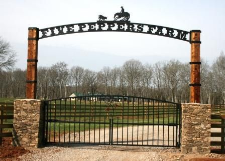 Pictures of WESTERN THEME  Metal Gates | Joe Brown, Artist Blacksmith | To discuss various iron work projects ...