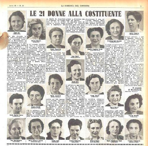 Settant'anni fa il primo voto delle donne in Italia - FOTO - - Speciali - ANSA.it