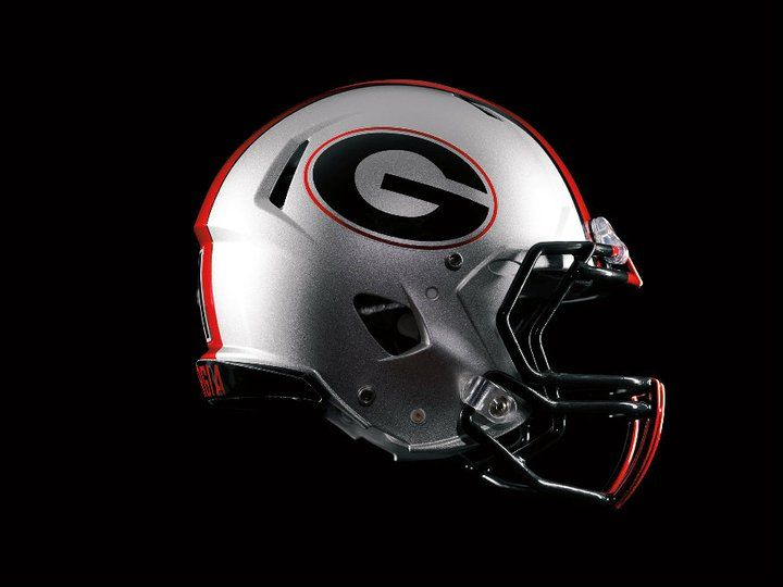 52 best college football helmets images on pinterest - Georgia bulldogs football wallpaper ...