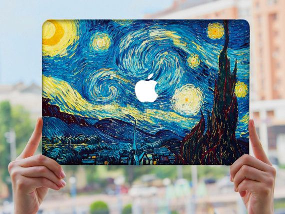 MacBook Air 13 caso duro plastica scuro Arte Design di CasebyBRO