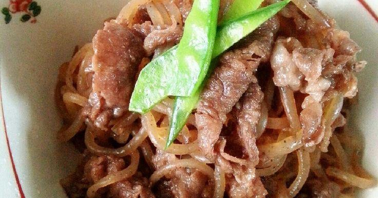 牛肉と糸こんにゃくのしぐれ煮♡お弁当に♡ by ♡しゆまんま♡ [クックパッド] 簡単おいしいみんなのレシピが246万品
