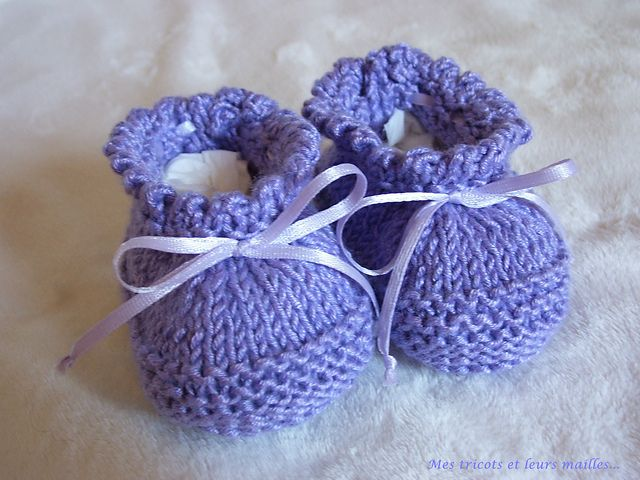 Ravelry: Project Gallery for BABY Booties - EASY TO MAKE pattern by Julia Noskova