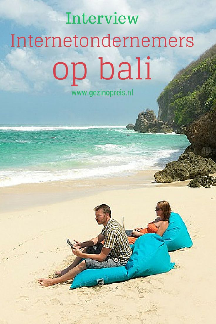 Deze keer hebben we reizigers aan het woord die niet alleen reizen, maar zelfs wonen en werken in een tropische bestemming. Hun internetondernemingen en blogs onderhouden ze niet vanuit een doorzonwoning in Nederland, maar vanuit de prachtige natuur op Bali.
