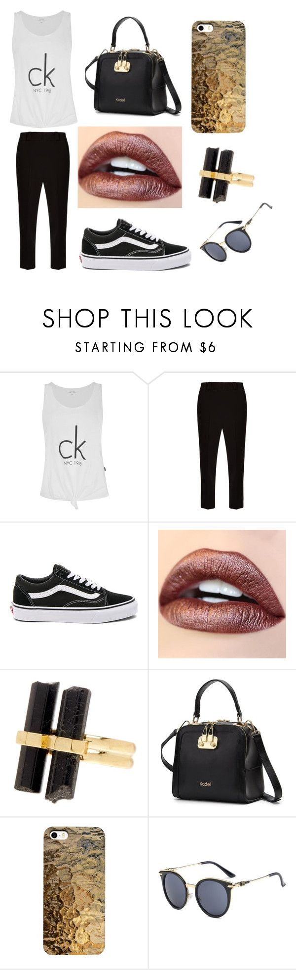"""Untitled #365"" by fashion-with-dudette on Polyvore featuring Calvin Klein, The Row, Vans and House of Harlow 1960"