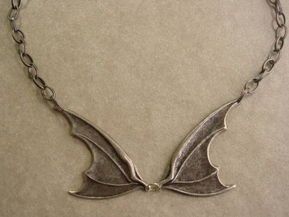 Inspired Warehouse 13 Claudia Donovan Bat Wing Necklace