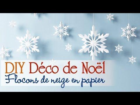 Oltre 25 fantastiche idee su flocon en papier su pinterest fiocchi di neve - Youtube decoration de noel ...