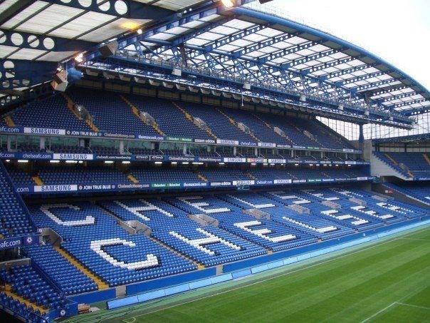Chelsea Football Club. Stamford Bridge, London, England