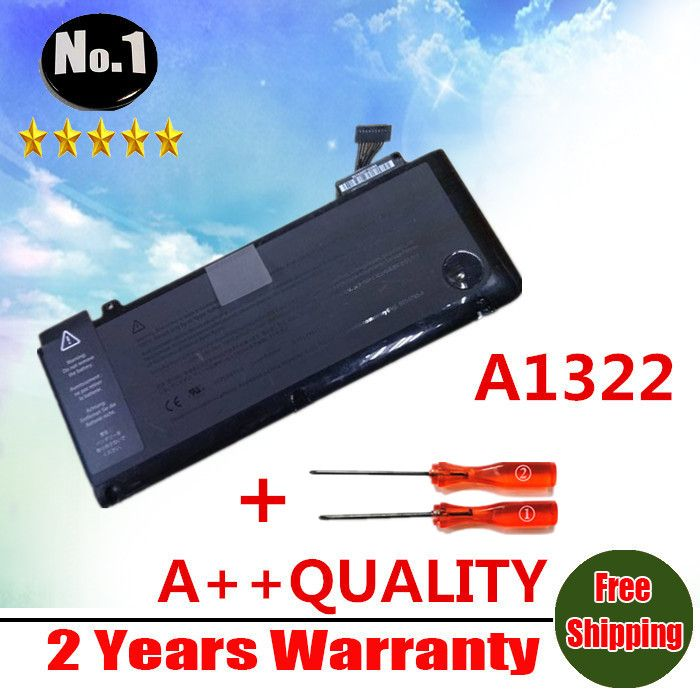 """wholesale Laptop Battery For APPLE  MacBook Pro 13"""" A1278 (2009 Version)  MC700 MC374 MB990 Replace A1322 battery  Free shipping"""