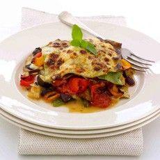 Roasted Mediterranean Vegetable Lasagne