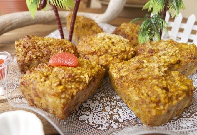 Sütőtökös fahéjas kókuszos muffin cukormentesen