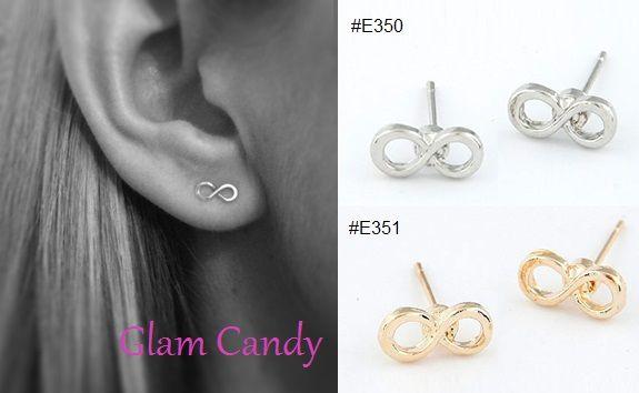 Shop: www.worldofglamoursa.com #Infinity #StudEarrings #GlamCandy