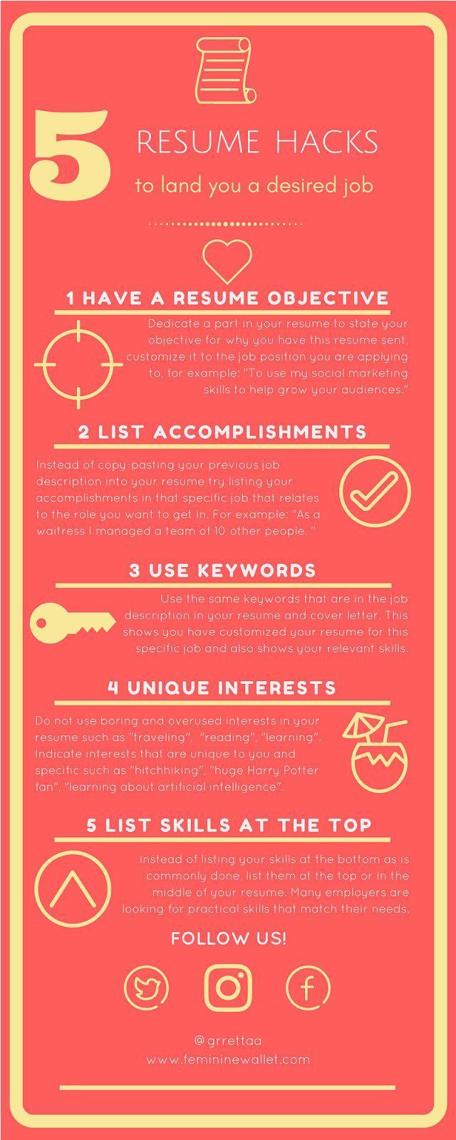 best 25  career objectives for resume ideas on pinterest