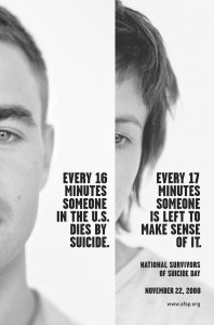 Ergo - there are a lot less people trying to make sense of it, than are dying by suicide? Or am I having a logic fail?