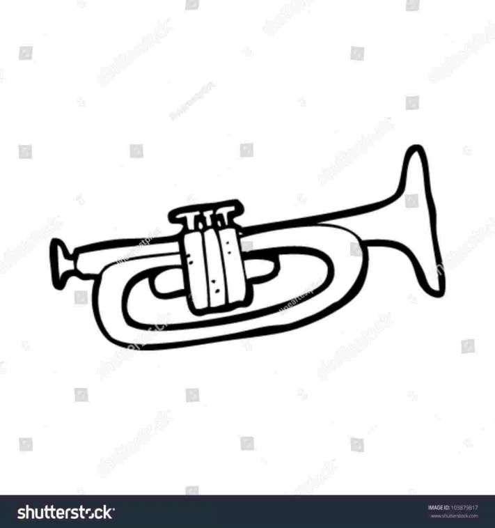 12 Cartoon Trumpet Drawing Cartoon Drawing Drawingpencilwiki Com In 2020 Drawings Drawing Lessons Cartoon Drawings