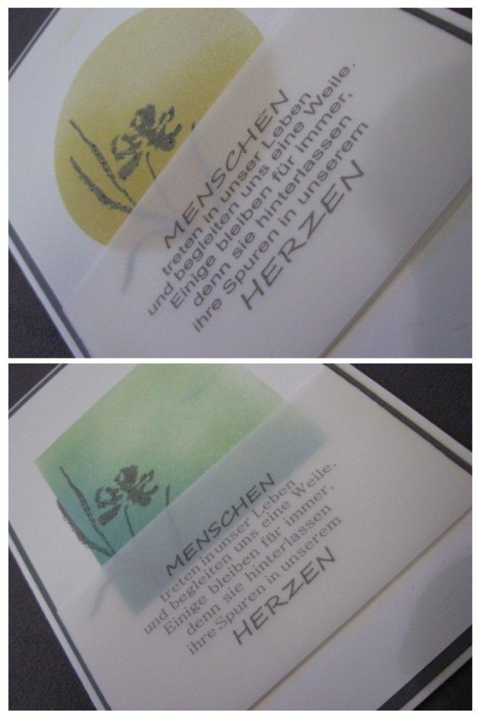 Brigitte Schwetz - Trauerkarten, Stempelset: Mit tiefstem Mitgefühl