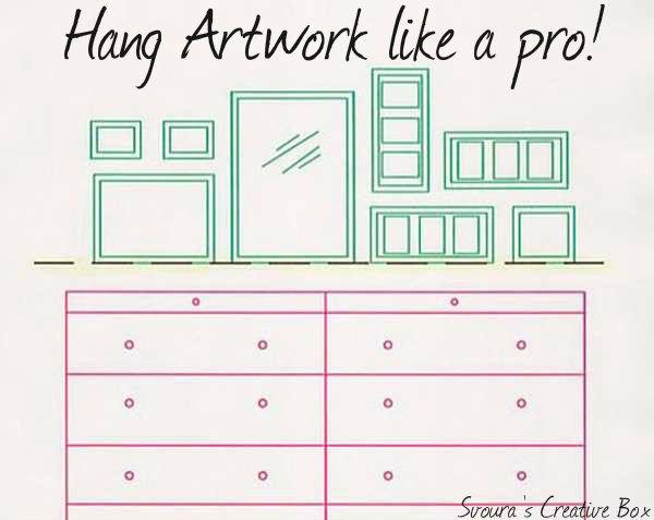 Ideas to hang artwork like a pro!