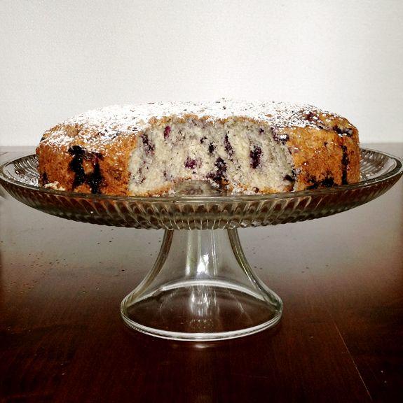 Blueberry Muffin-Cake