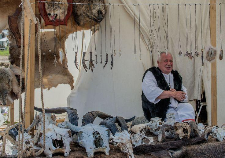 Средневековый город на фестивале Битва тысяча мечей