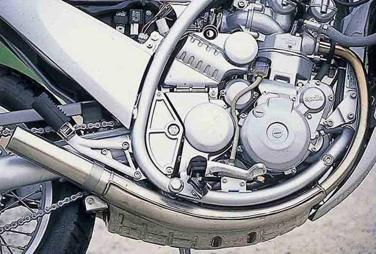 Aprilia Moto 6.5 motorcycle review - Engine