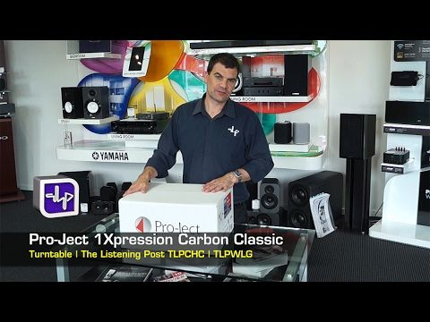 Pro-Ject 1Xpression Carbon Classic Unboxing #TLPCHC #TLPWLG http://www.listeningpost.co.nz/Products/Turntables/Turntables/Xpression-Pro-Ject-Carbon-Classic-T...