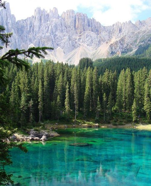 Wonderful Turquoise Lake – Italy