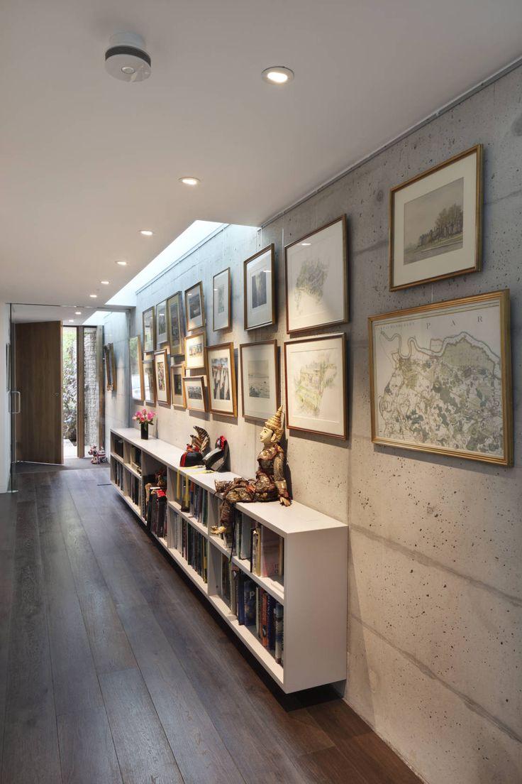 ideas para decorar pasillos y recibidores modernos